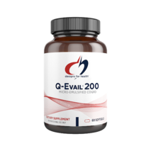 Q-Evail® 200 mg, 60 softgels